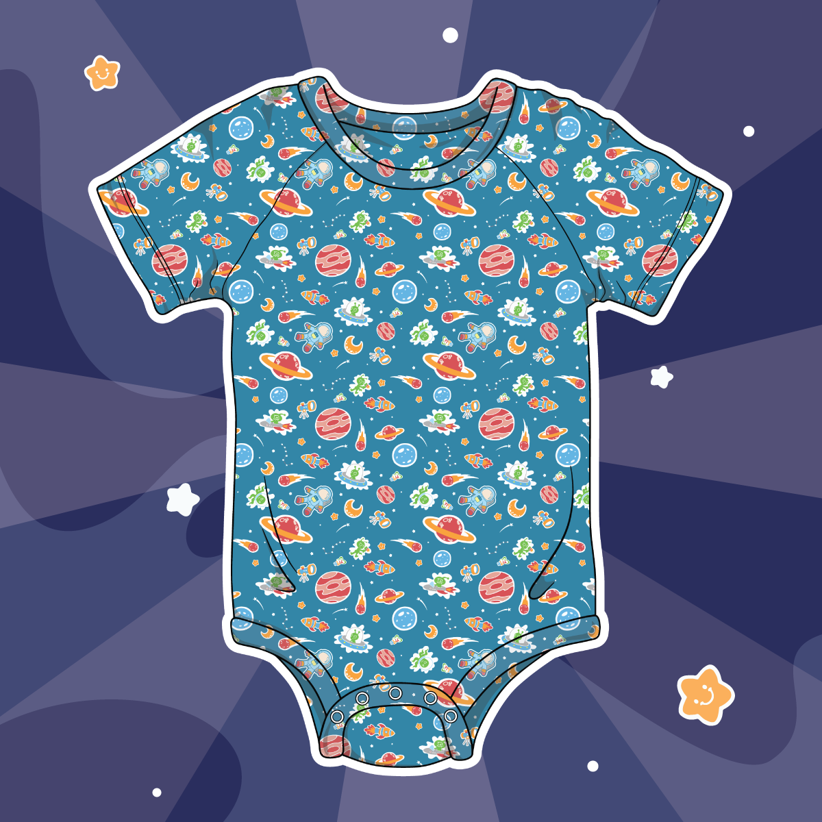 New ABU Space Diapersuit