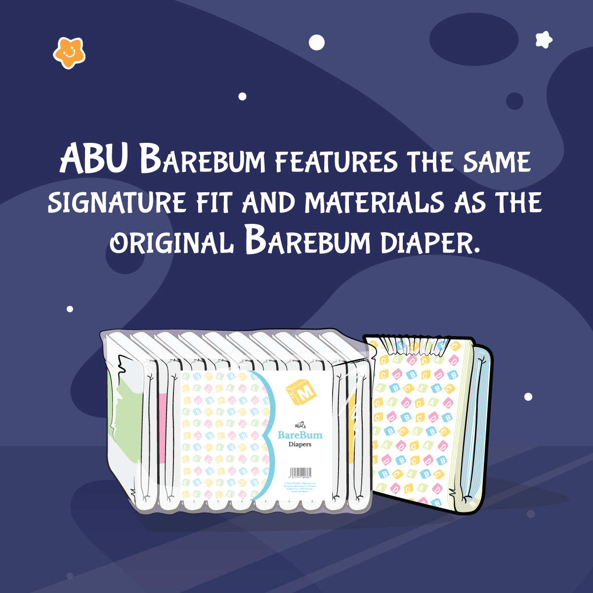 ABU BareBum Diapers
