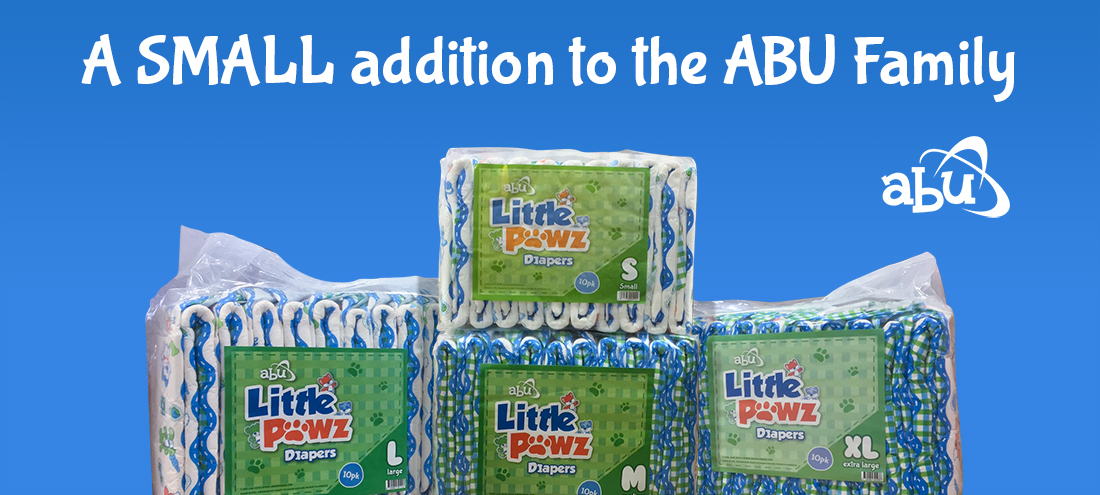 New LittlePawz Small Diapers