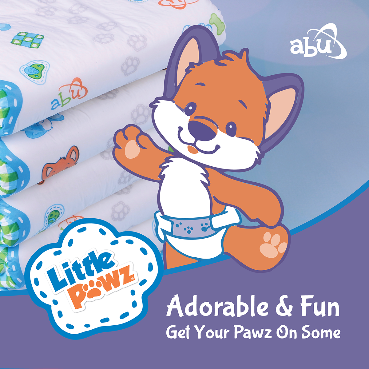 ABU LittlePawz Diapers