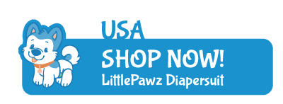 ABUniverse USA Little Pawz Patterned Diapersuit