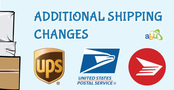 Additional Shipping Changes